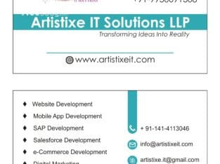 *Artistixe it On Demand App Solution*