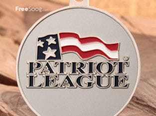Patriot League Custom Medals