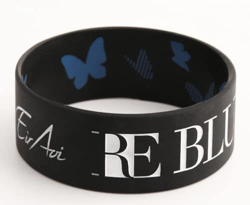 RE Blue wristbands