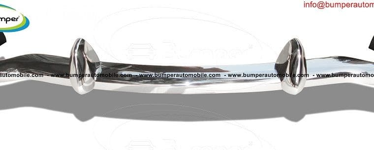 MGB bumper classic car by stainless steel
