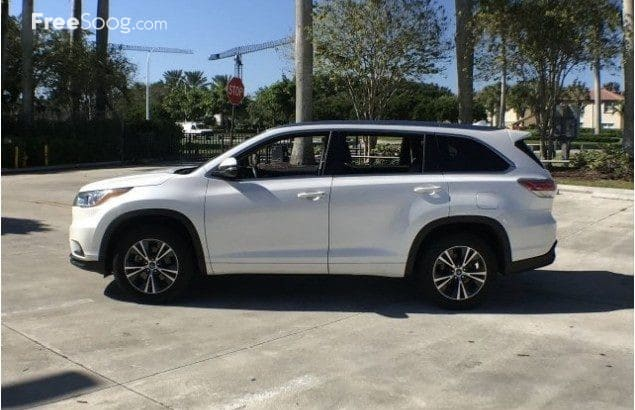 2016 Toyota Highlander, perfect condition inside and outside
