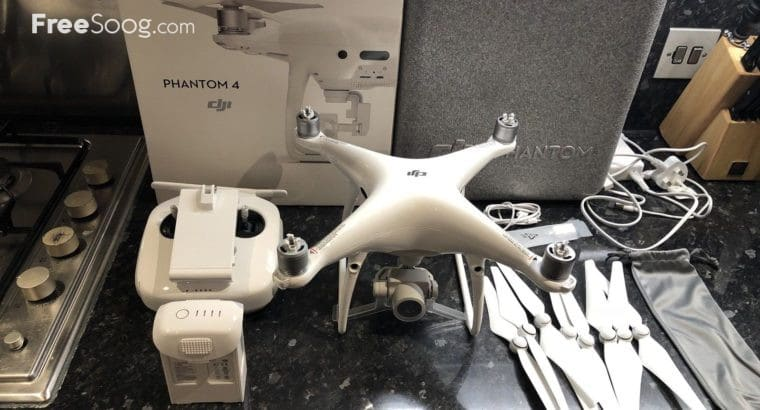 DJI Phantom 4 Pro Quadcopter Drone 4k Camera