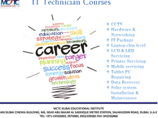 Enroll MCTC Dubai to Become a Best IT Technician in Dubai!
