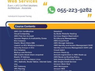 Amazon Web Services (AWS) Training in Dubai