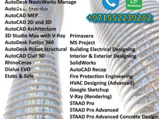 Autodesk Professional Certification Courses in Dubai