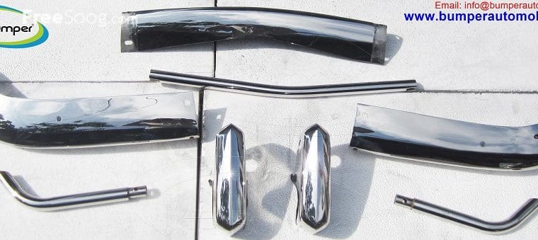 VW Karmann Ghia USA type bumper (1955 – 1966) stainless steel