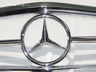 Mercedes W113 Front Grille (1963-1971) stainless steel
