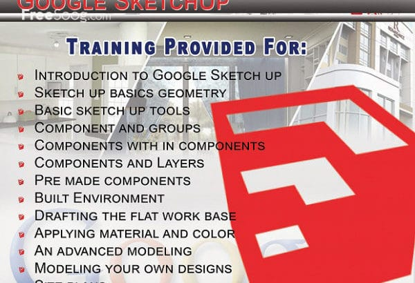 Google SketchUp with V-Ray Training in Dubai!!