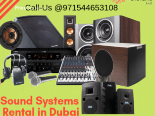Sound System Rental Dubai | Sound System for -Rent Techno Edge Systems