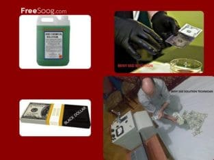DEFACED CURRENCY CLEANING SSD SOLUTION CHEMICAL