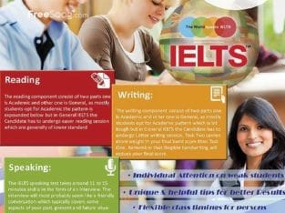 Ielts General Training Preparation Course-Ielts General Test Format