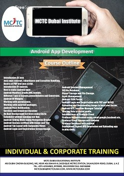 Android Mobile App Development Course @ MCTC Dubai