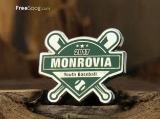 Monrovia Youth Baseball Pins
