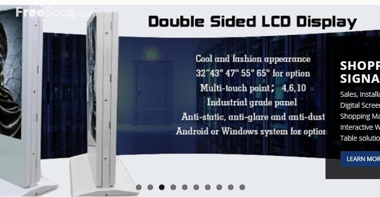 Sidra Technologies LED Display Video or Audio Visu