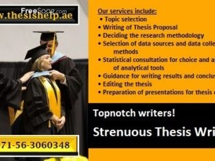 971563060348 Strenuous Thesis Writing in Muscat, Oman