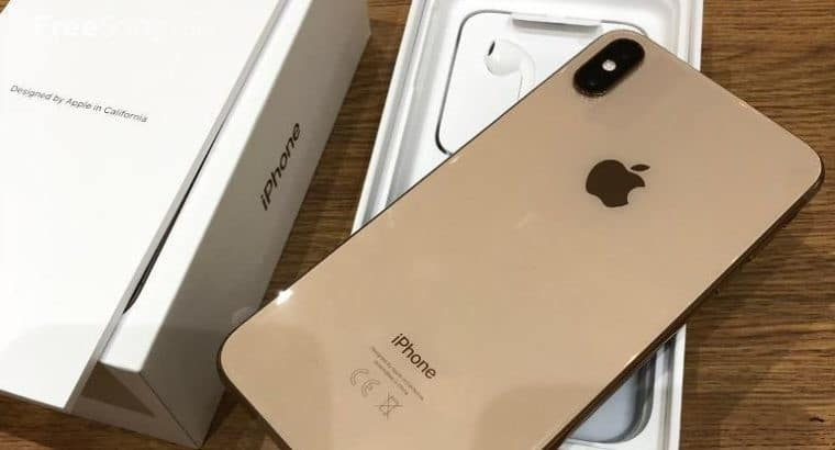 Apple iPhone XS 64GB = $450USD , iPhone XS Max 64GB = $480