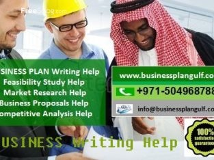 Business Plan & Proposal Writing in Riyadh Saudi Arabia