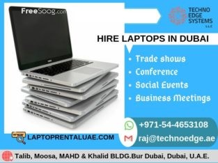 Are You Looking for The Best Laptops for Rent in UAE