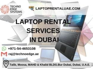 Best Company to provide Laptop Rental services in Dubai