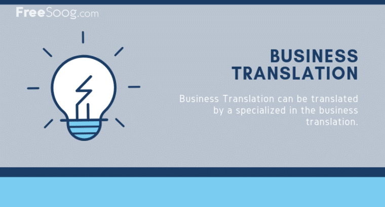 Translation Services in Dubai