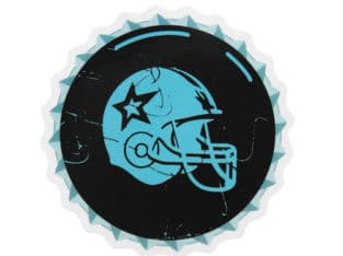 Custom Die Cut Stickers | Football Helmet Custom Stickers